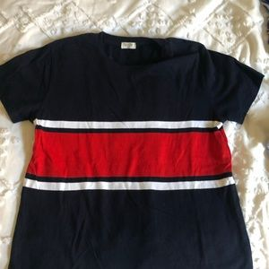 Tops - Navy, white and red t-shirt